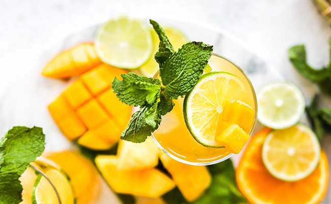 Mango Lemon Cooler