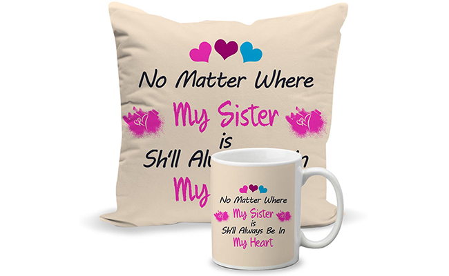 Personalised Mug and Cushion Combo