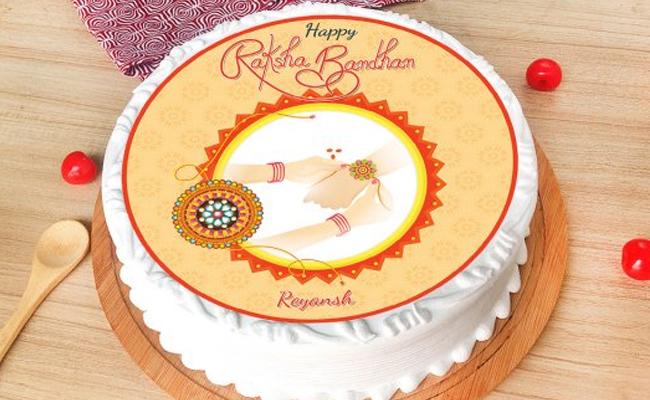 Rakhi Poster Cake