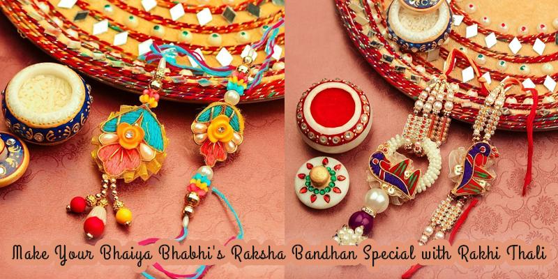 Rakhi Thali for Bhaiya Bhabhi