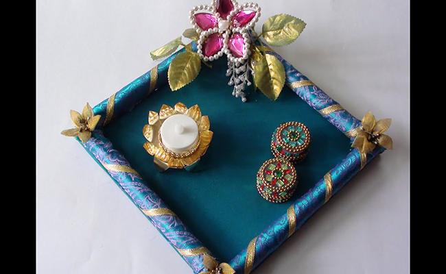 Royal Floral Thali