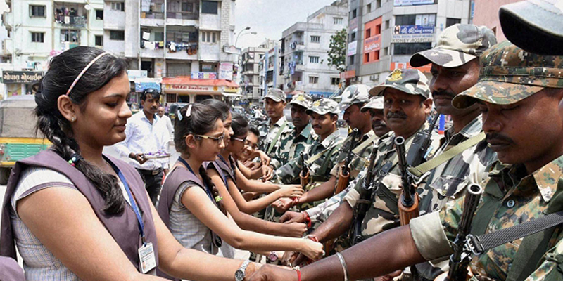 How to Send Rakhi to Indian Army Soldiers