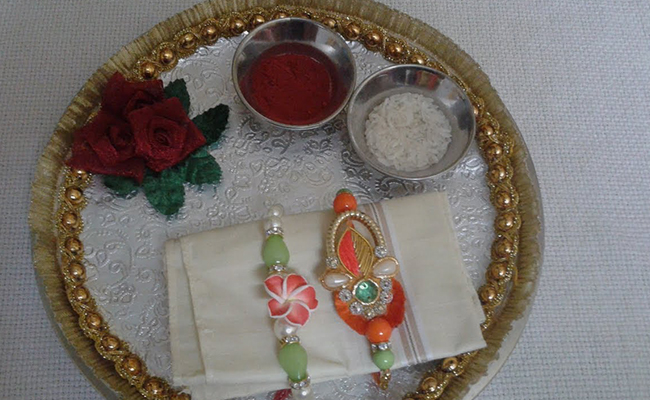 Spectacular Silver Thali