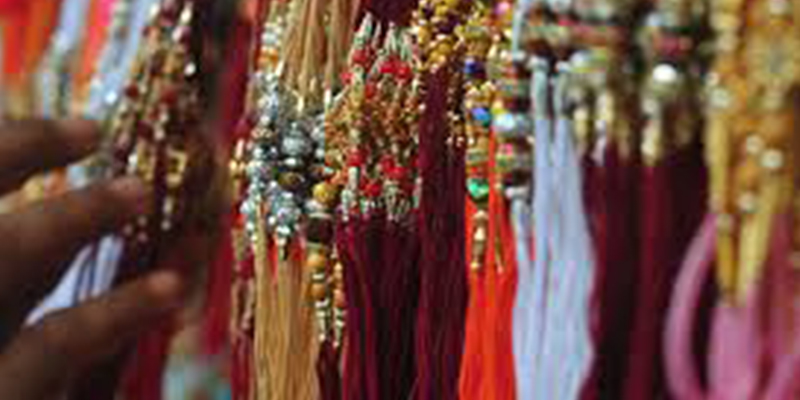 Traditional Rakhi Threads Crafted with Rich Indian Art & Culture