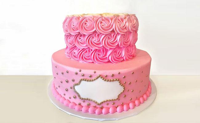 Semi Fondant Cake