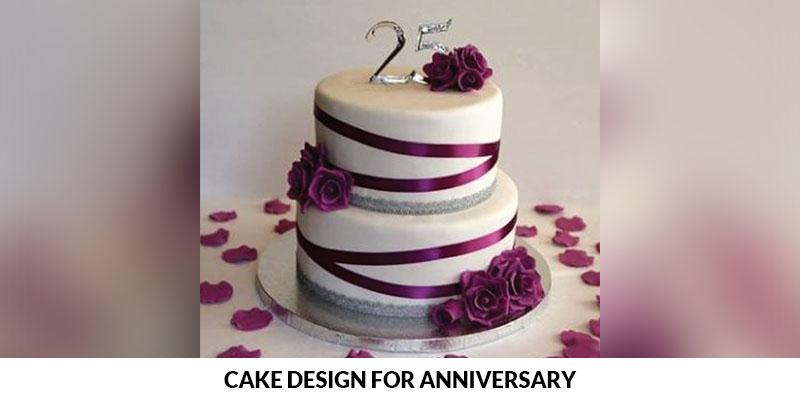 anniversary cake design