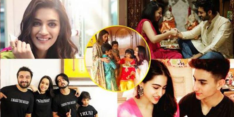 B-town Celebrities Celebrating Raksha Bandhan SOCIAL Way