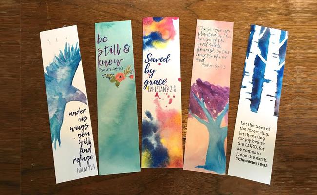 Bookmarks - DIY Rakhi Gift