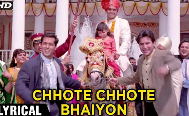 Chhote Chhote Bhaiyon Ke Bade Bhaiya - Hum Saath Saath Hain (1999)