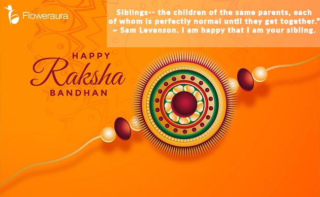 Raksha Bandhan Message for Siblings