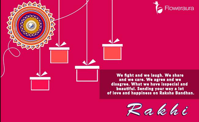 Raksha Bandhan Message - We Fight and We Laugh
