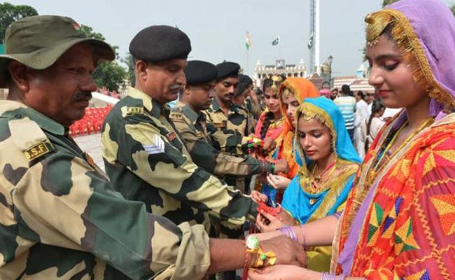 Send Rakhi To Soldiers On Borders
