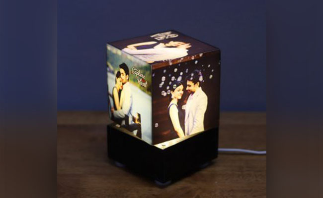 Personalised Rotating Lamps