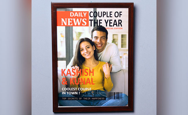 Personalised Photo Frame for Partner
