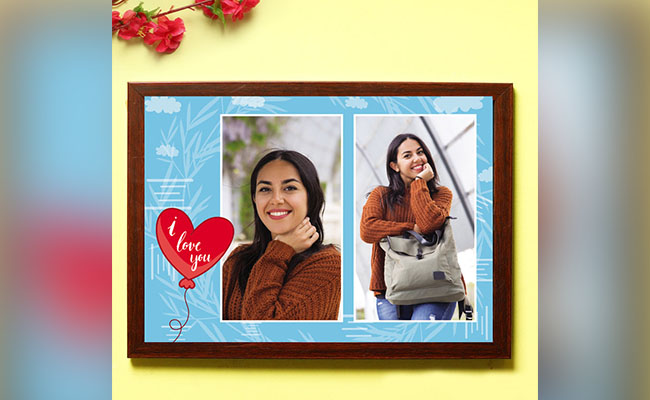 Personalised Love Frame for her