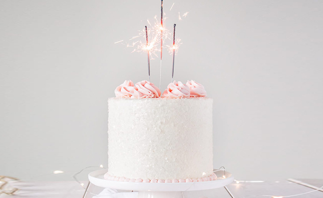 Pink Champagne Cake Flavour