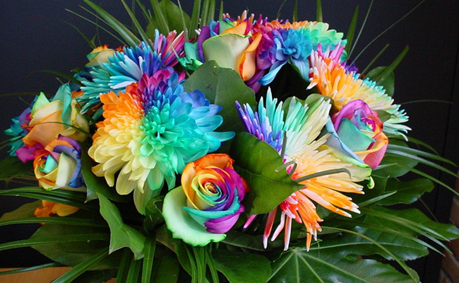 Bouquet of Rare Flowers - A Unique Gift