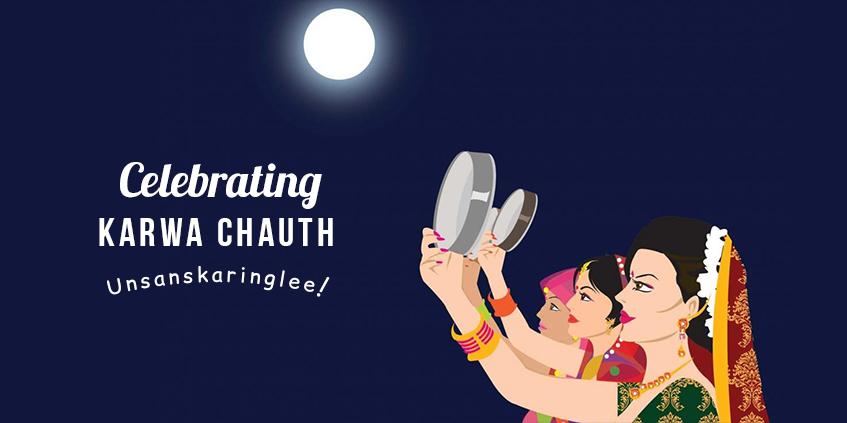 Glorious and Sanskari Karwa Chauth