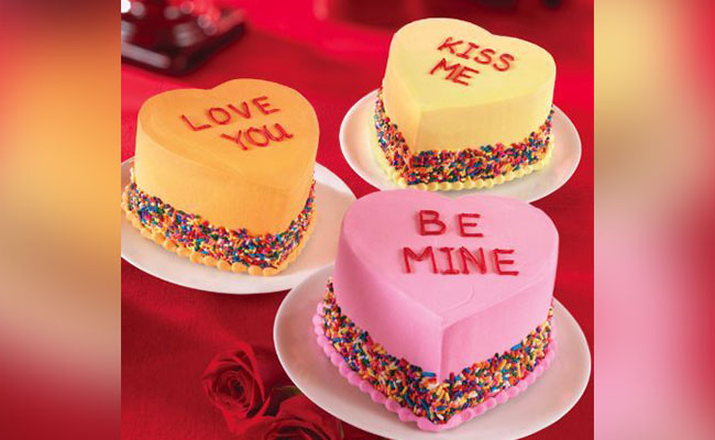 Romantic Heart cake decoration