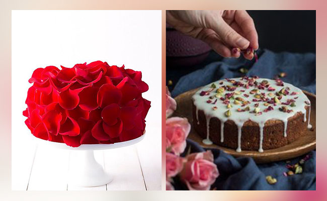 Fresh and Fragrant Love cake