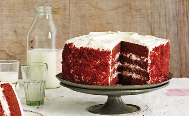 Ingredients for Classic Red Velvet Cake