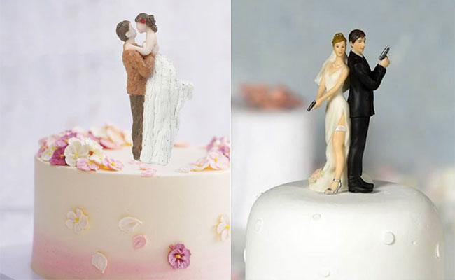 Figurine Anniversary Cake