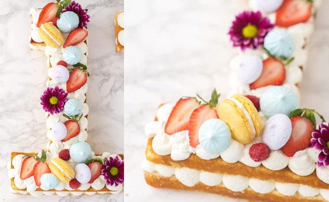 Number One Anniversary Cake