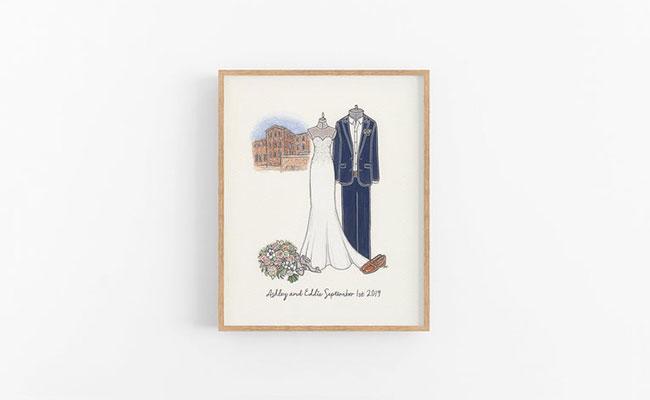 Wedding Dress Sketch