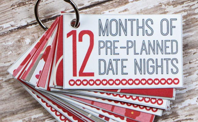 12 Months Pre-Planned Date Nights