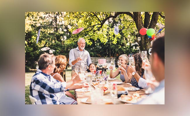Keep The Number Of Guests In Mind