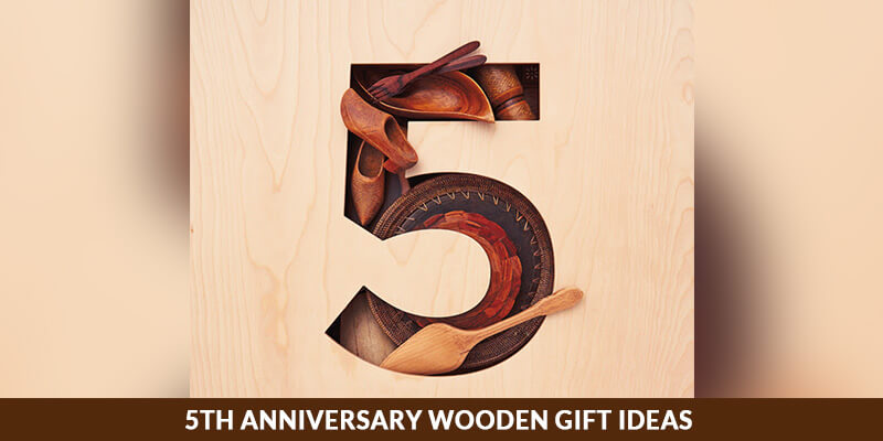 5th Anniversary Gift On Wood