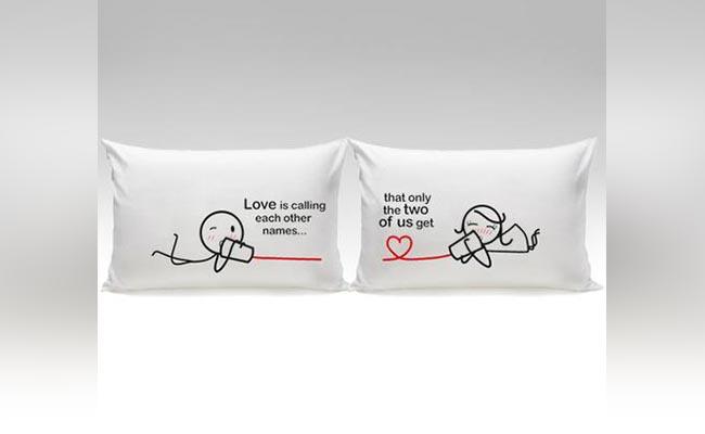Couple Pillow Cases