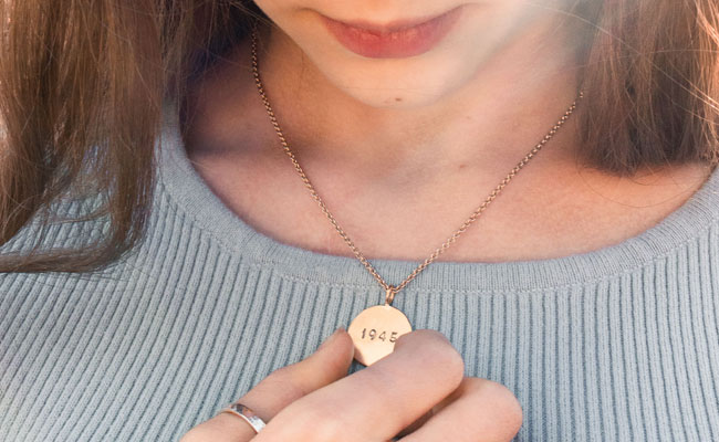 Engraved Piece Of Jewelry
