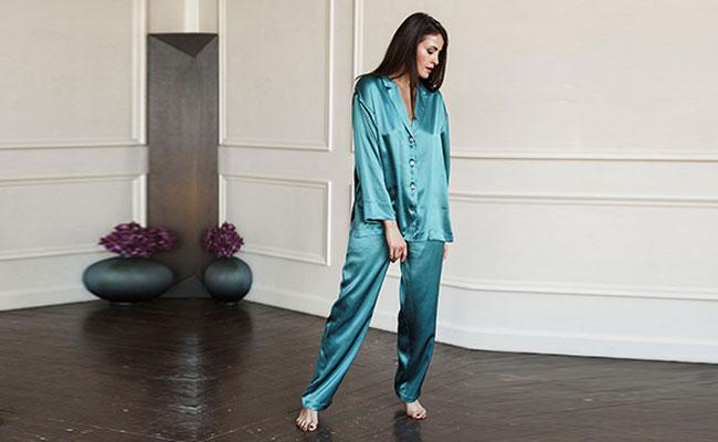 Silk Loungewear