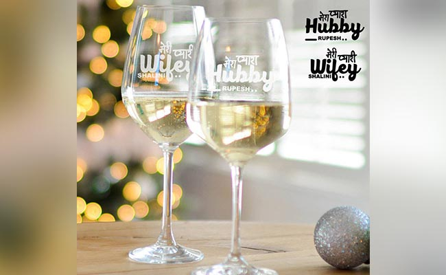 Wine And Personalised Glasses