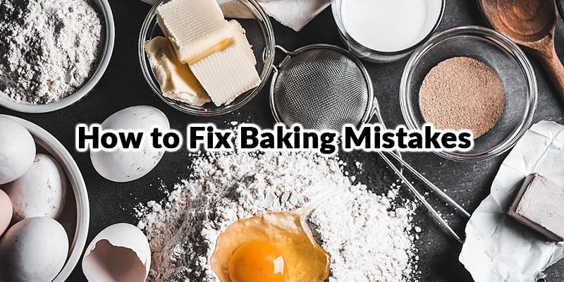 Common Baking Errors