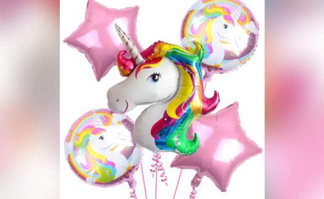 Balloon Wands Unicorn Birthday Party Decoration
