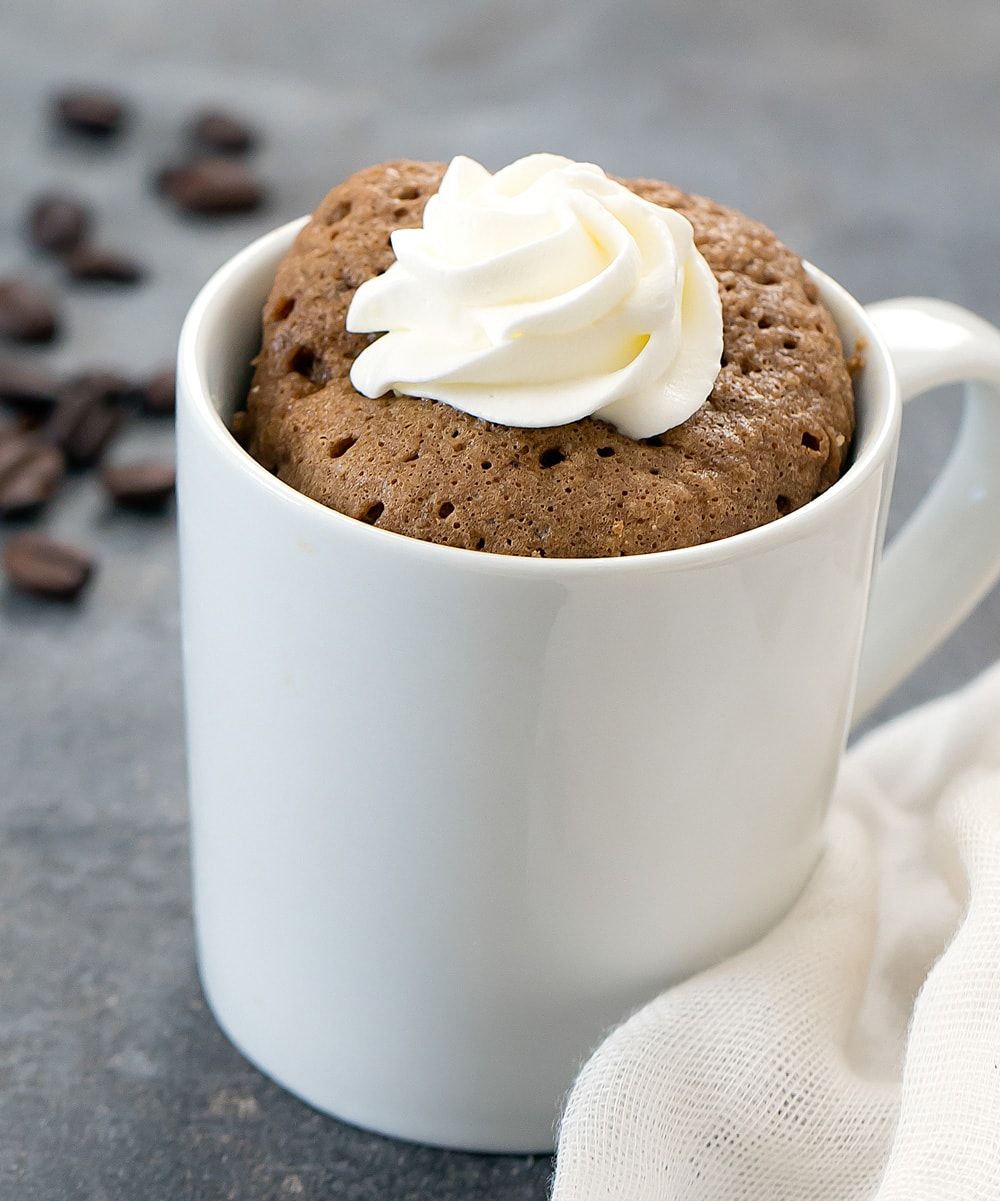 Microwave Coffee Mug Cake