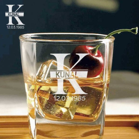 Personalised Whiskey Glass Set