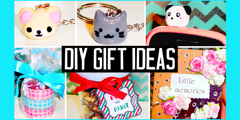 DIY Cute Lil Gifts for the Birthday of Your Dear Ones!