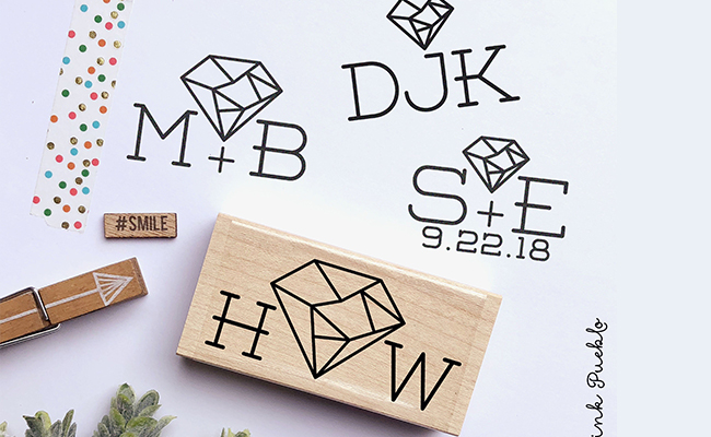 DIY Wedding Stamps