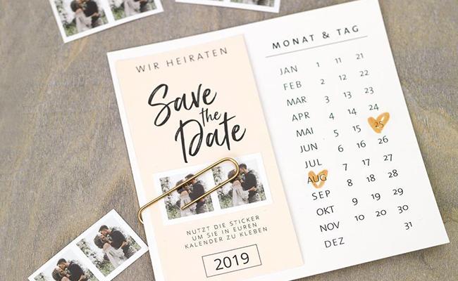 DIY Calendar Card