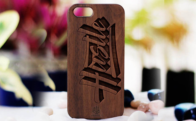 Wooden Mobile Back Cover