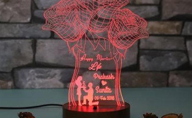 personalised LED Lamp