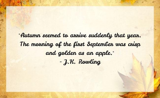 Fall Season Quote 12