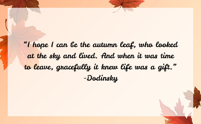 Fall Season Quote 19