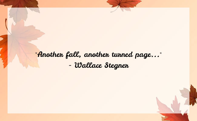 Fall Season Quote 7