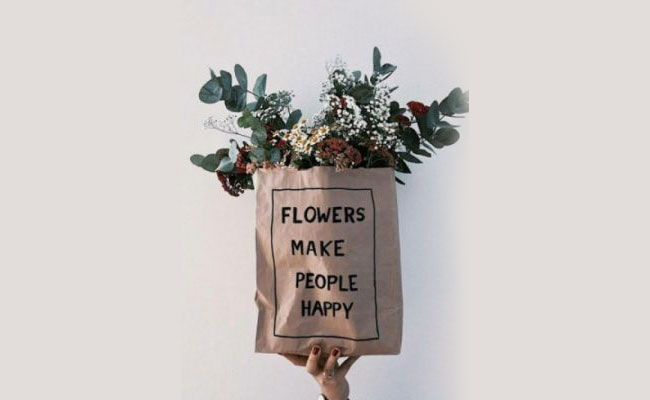 Flowers Makes One Happy
