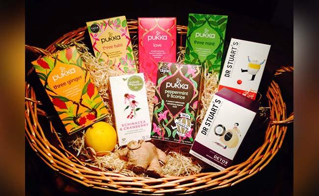 Herbal Tea Gift Hamper for Mothers Day