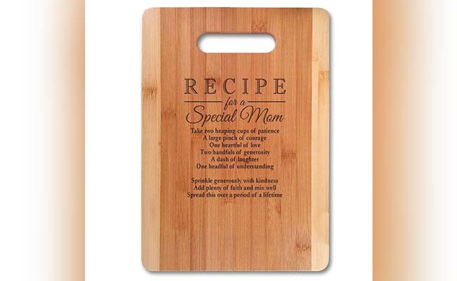 Special Mom Vegetable Chopping Board for Mothers Day